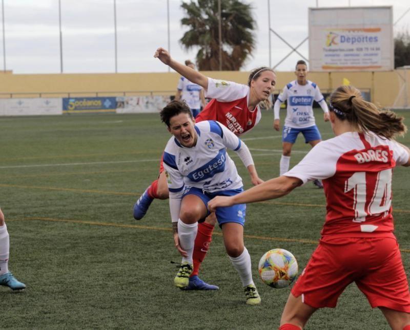 Fútbol (Liga Iberdrola): Granadilla Egatesa-Sevilla    11/01/2020   Fotógrafo: Delia Padrón