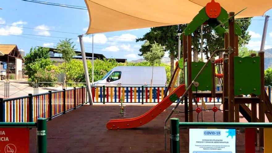 Murcia reabre mañana sus parques infantiles