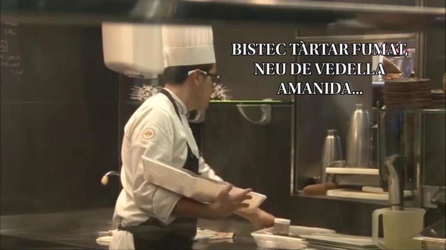Què es cou dins la cuina del restaurant ABaC?