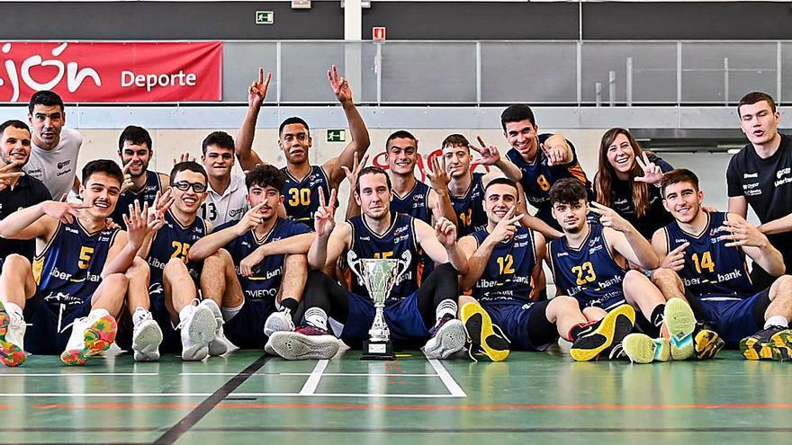 El Oviedo Baloncesto se vuelca en la búsqueda de financiación para sacar a su filial en Liga EBA