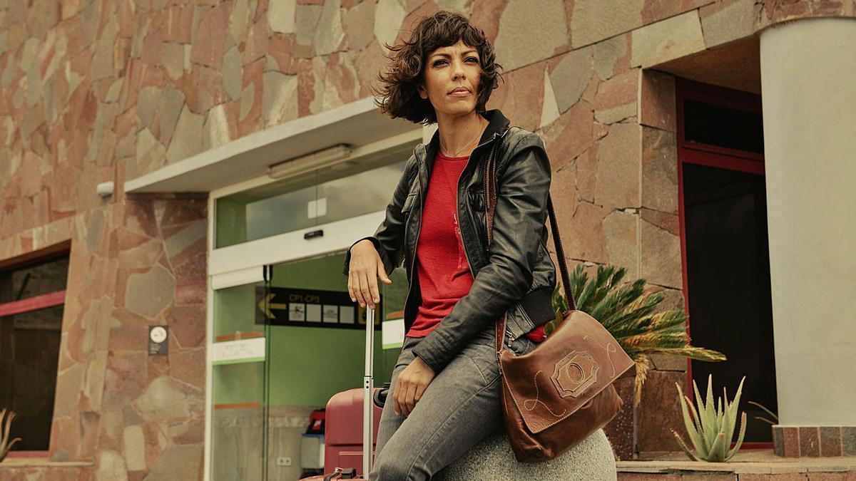 La actriz Iris Díaz