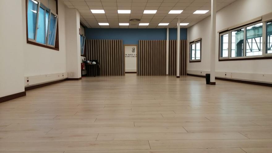 Así de vacío está el cuartel general de Ritz en Barreras