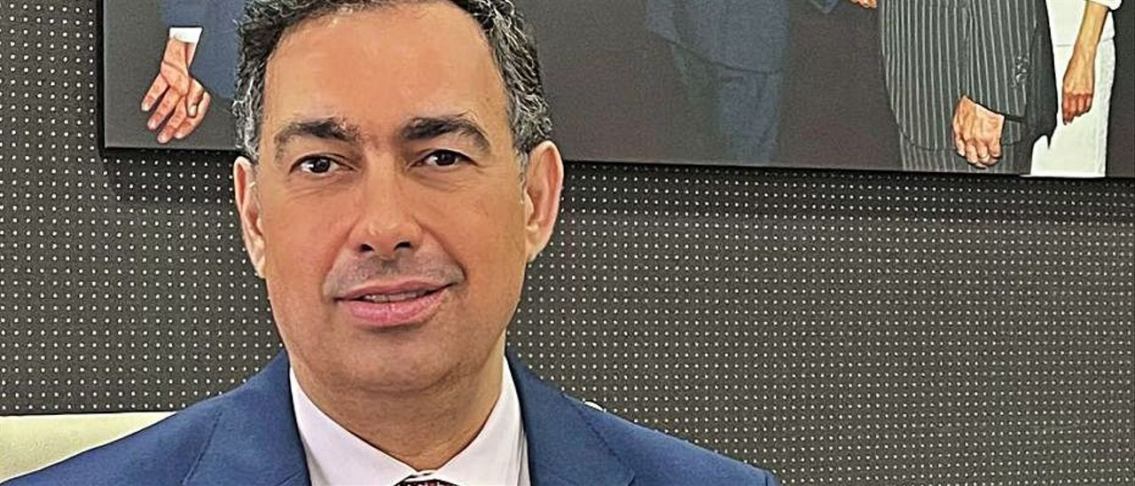 José Antonio Newport, empresario promotor de la Ciudad del Cine.