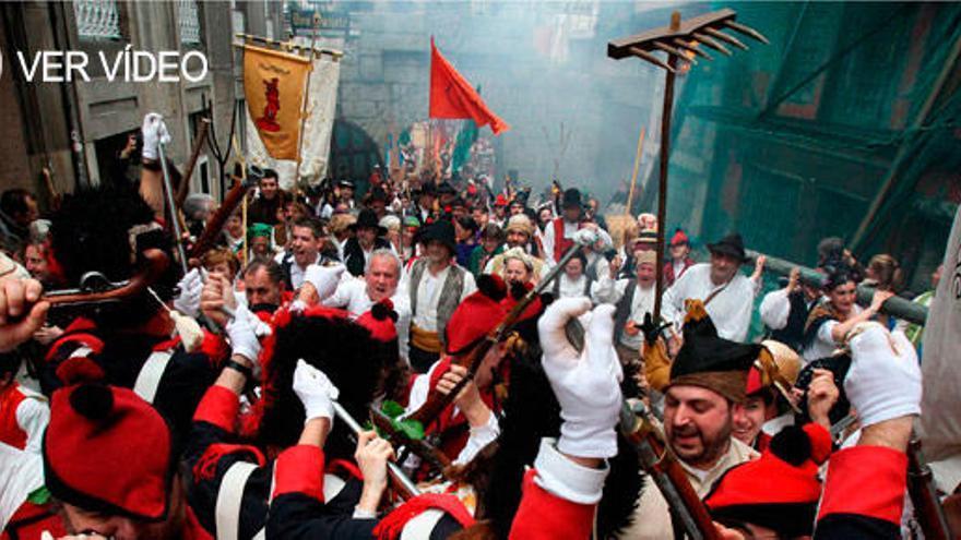 Vigo se entrega a la Reconquista con 3 días de fiesta