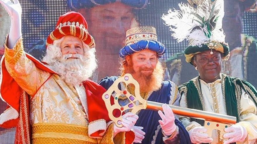 Retransmisión de la llegada Los Reyes Magos