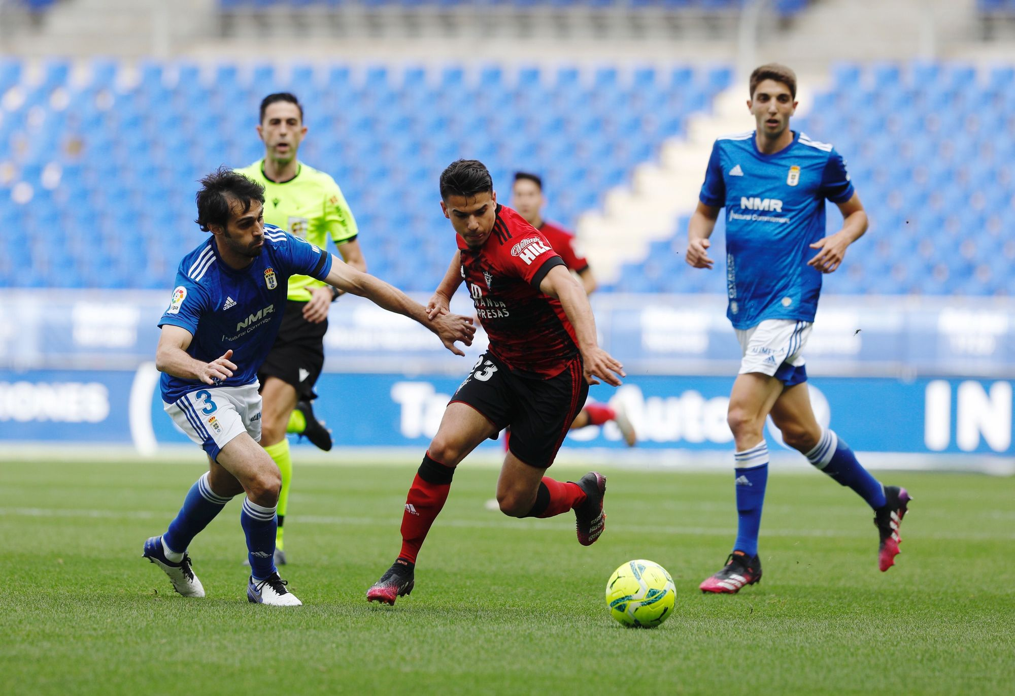Las mejores imágenes del Real Oviedo-Mirandés