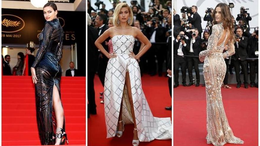 Los ángeles de Victoria's Secret invaden Cannes