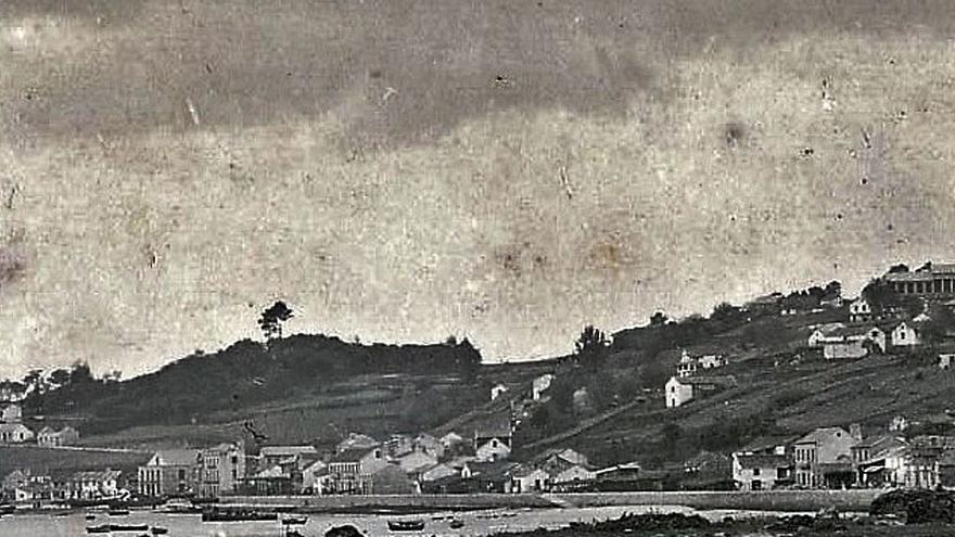 A orixe do casco urbano de Moaña