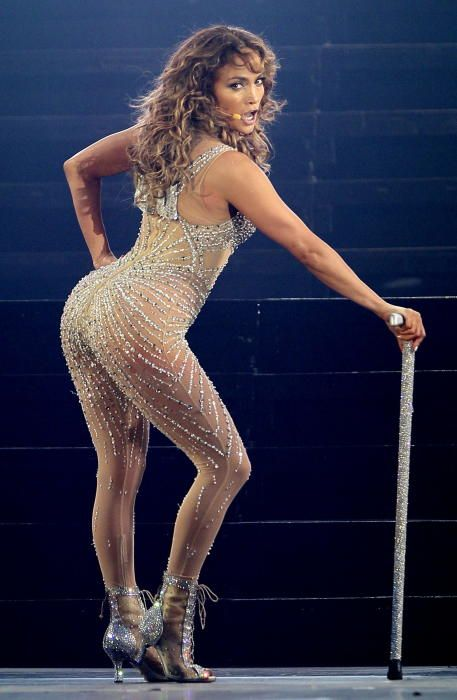 La cantante estadounidense Jennifer López