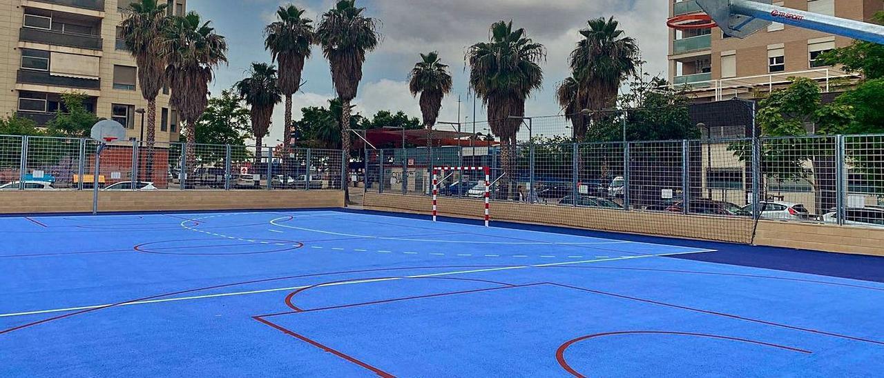 Pistas deportivas de uso exterior en València.  levante-emv
