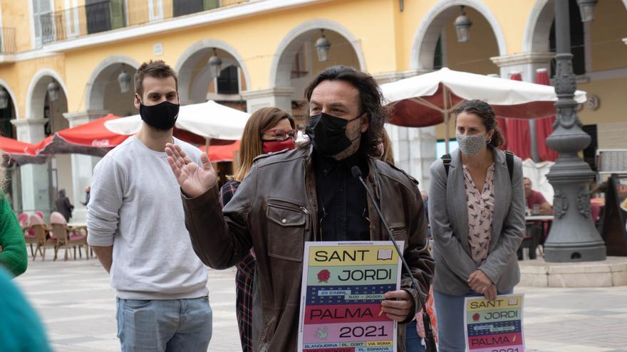 Palma organiza un Sant Jordi solo para las librerías