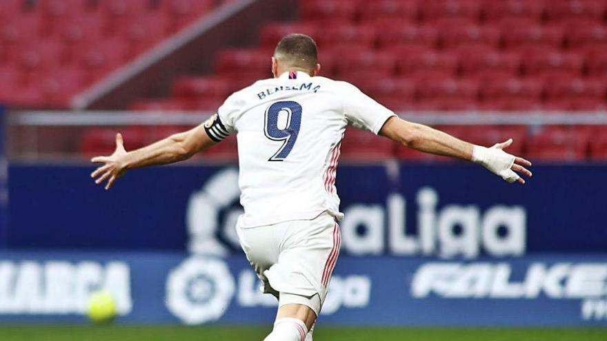 Karim Benzema rescata un punt per al Madrid