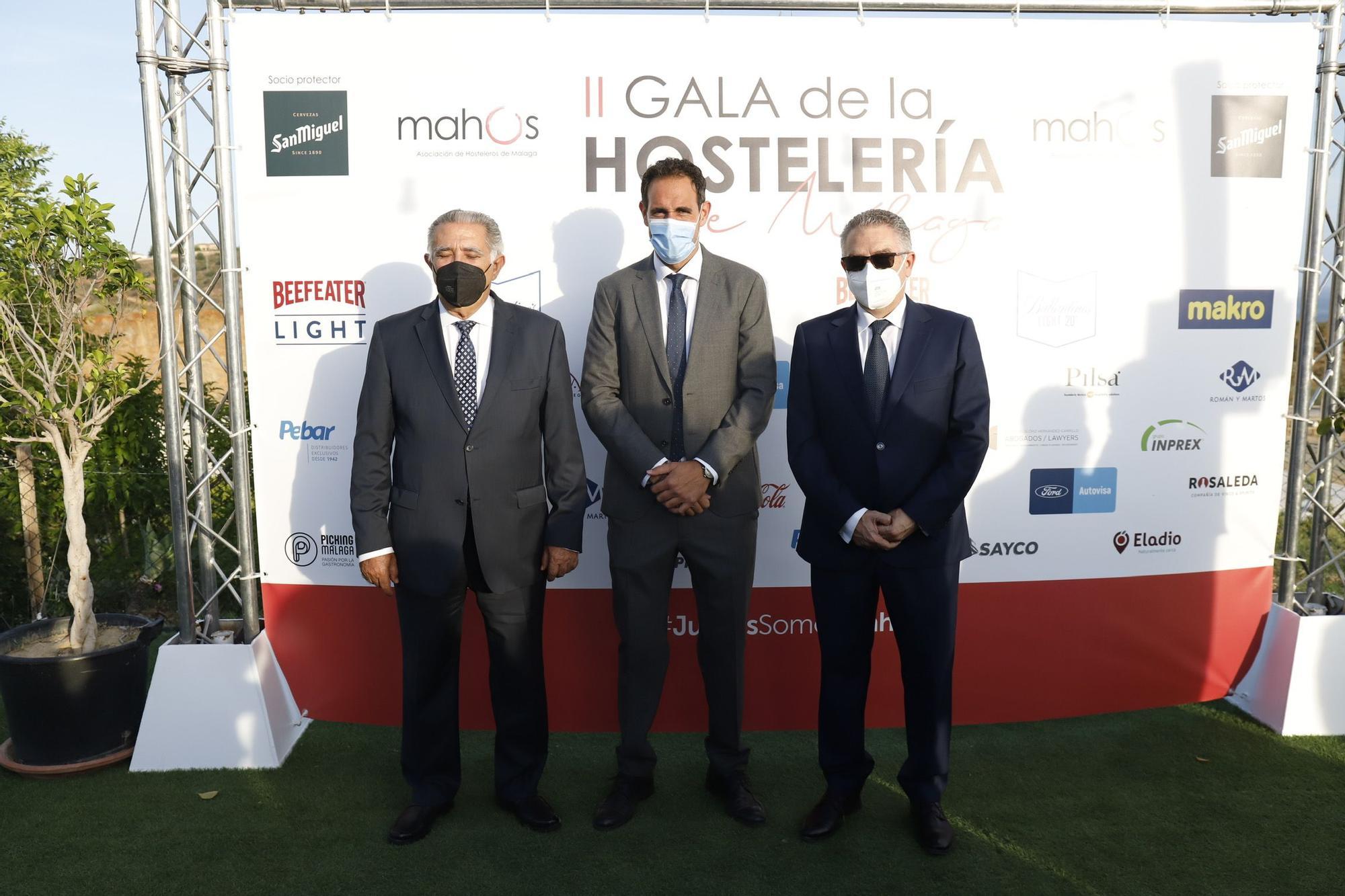 Imágenes de la II gala de la hostelería malagueña