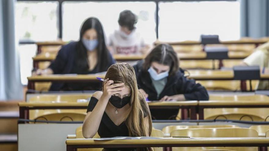Selectividad: los alumnos con covid en junio podrán examinarse en julio sin penalización en la nota