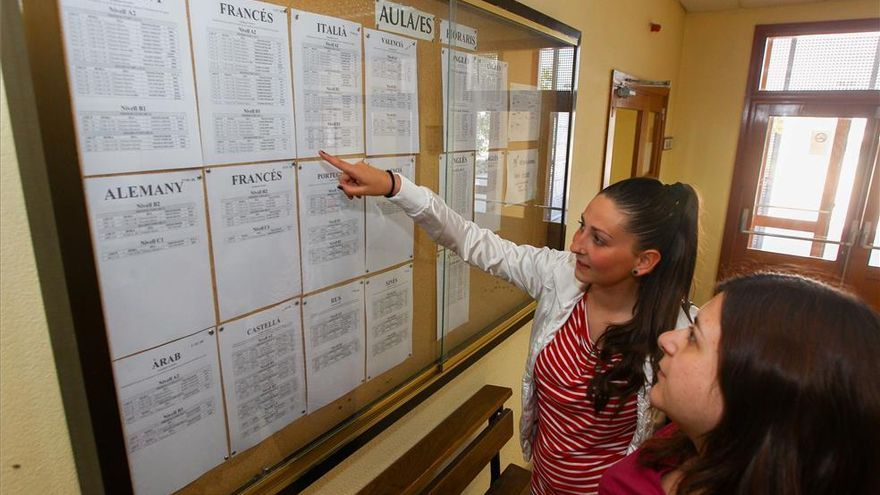 La Escuela Oficial abre la preinscripción el lunes 12