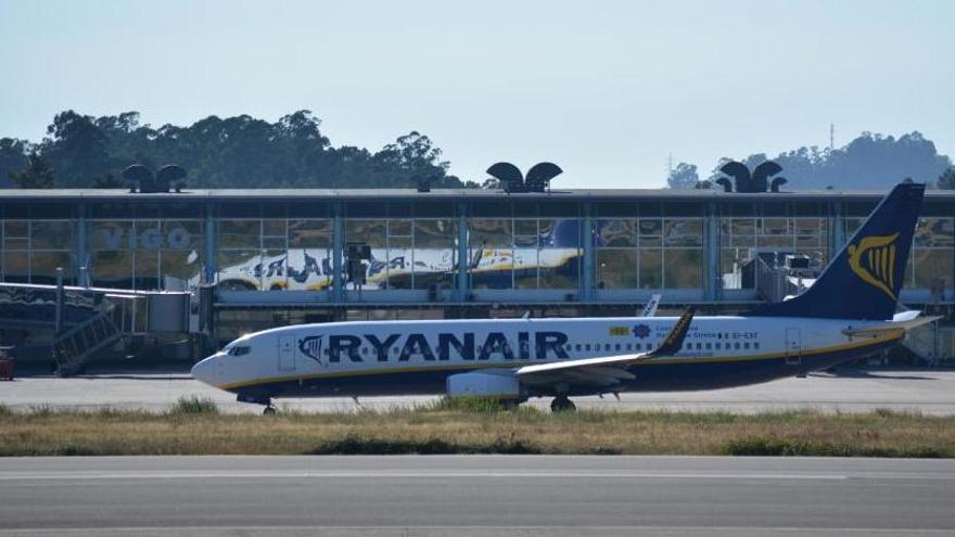 Ryanair amplía sus vuelos desde Vigo