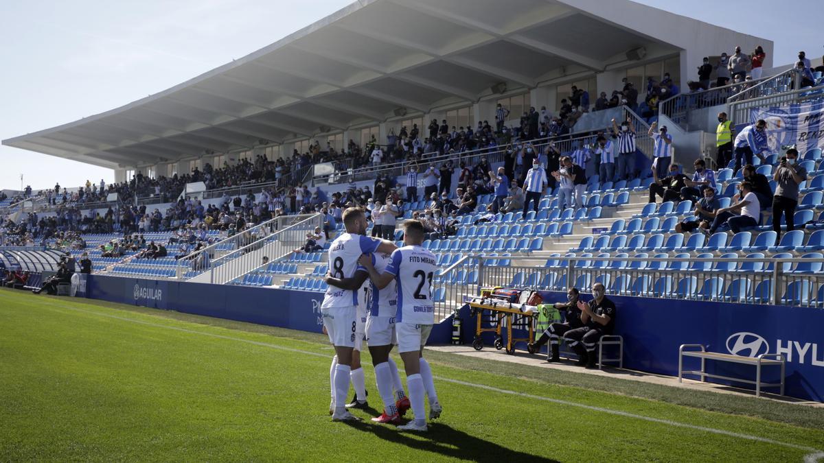 El Atlético Baleares juega sus partidos en el Estadio Balear tras su total remodelación