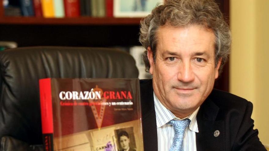 Fallece el abogado Damián Mora, un grana de corazón