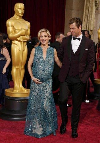 Chris Hemsworth y su mujer Elsa Pataky.