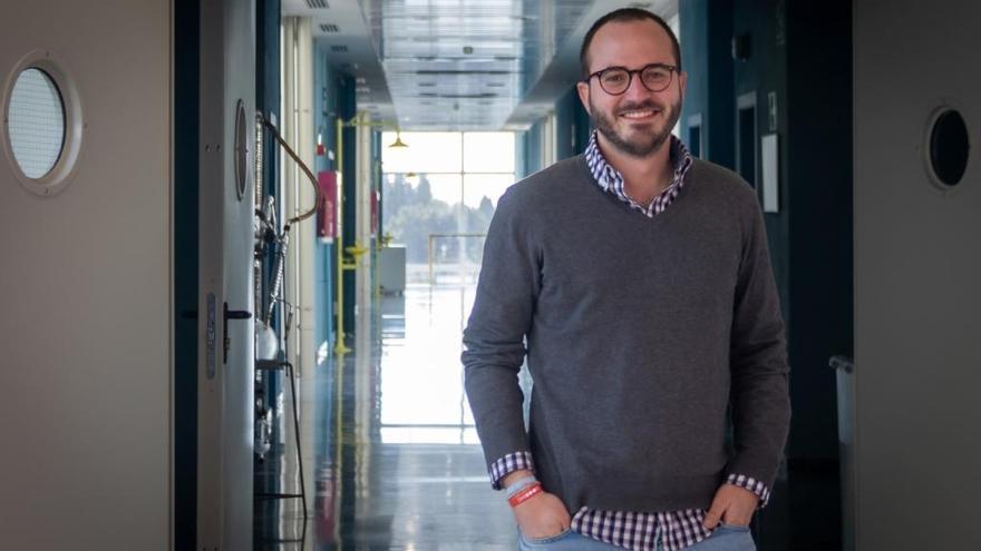 Francisco Berga obtiene la sexta mejor nota de España para químico residente