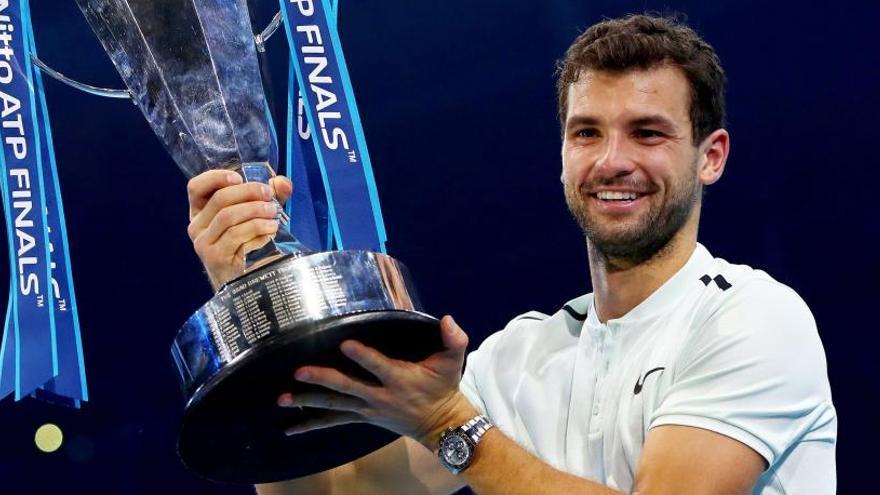 Dimitrov inscribe su nombre en la Copa Masters