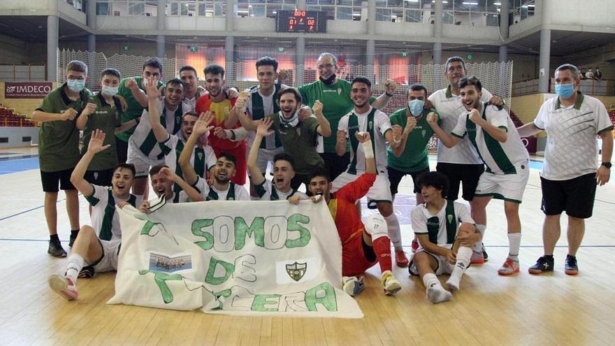 El Córdoba Futsal Patrimonio da otro salto adelante desde la base