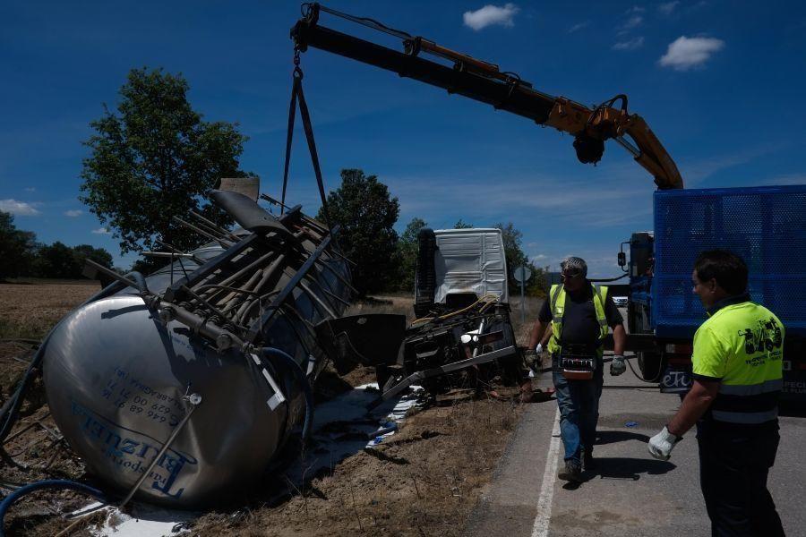 Accidente mortal en Fresno de Sayago
