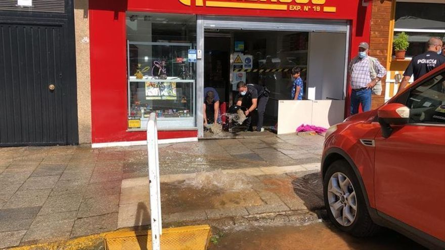 Badajoz sufre tres roturas de tuberías este domingo