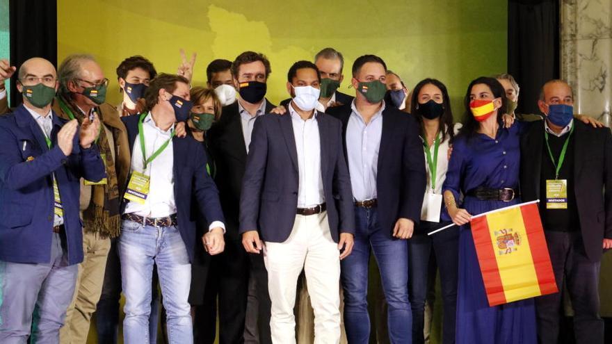 PSC, ERC, JxCat, CUP i comuns acorden vetar Vox de llocs de representació al Parlament