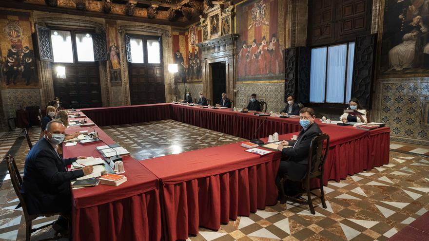 Mejora el balance de gobierno tras el primer año del tripartito