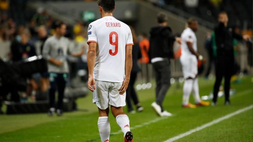Gerard Moreno se retira de la concentración de la Selección Española