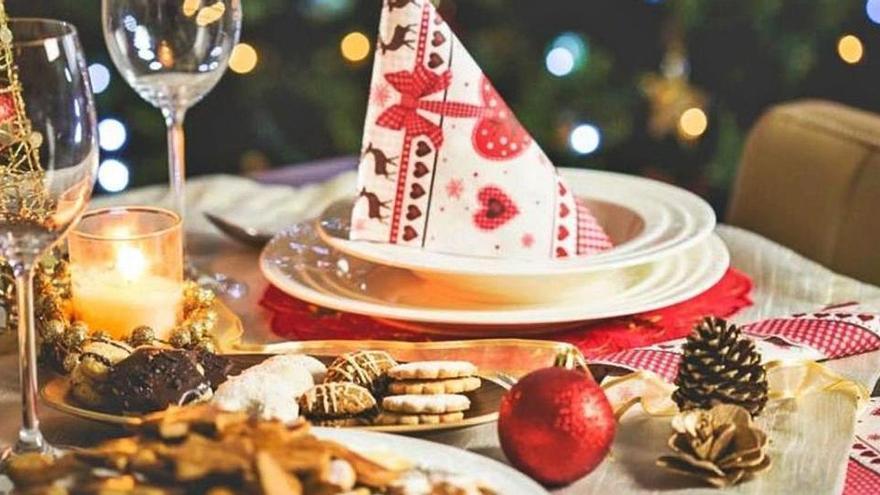 Decálogo para una cena de Navidad segura