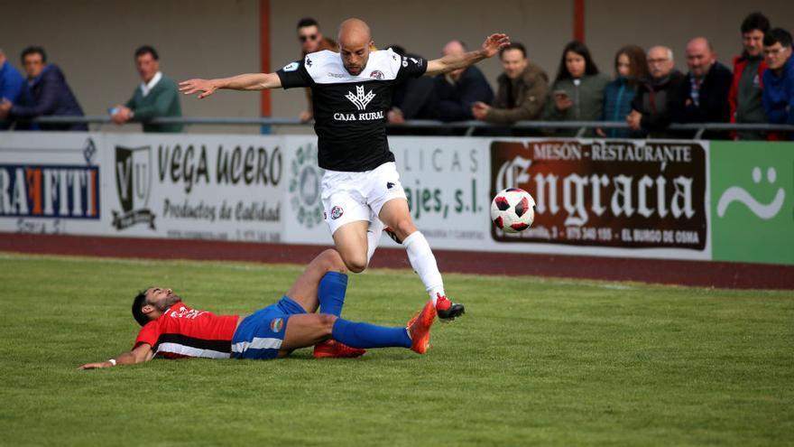 La lesión de Sergio García amarga el alirón del Zamora
