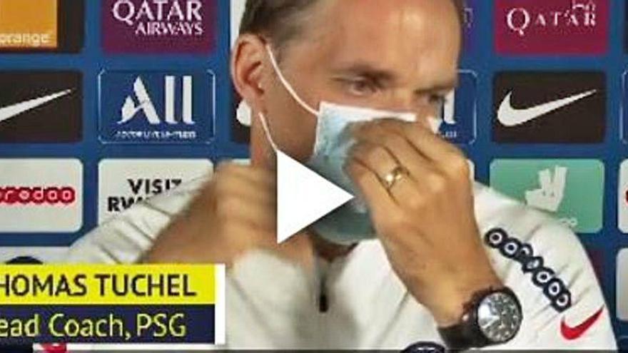 """Tuchel se lamenta de la lesión de Bernat: """"Es muy serio, es un jugador clave"""""""
