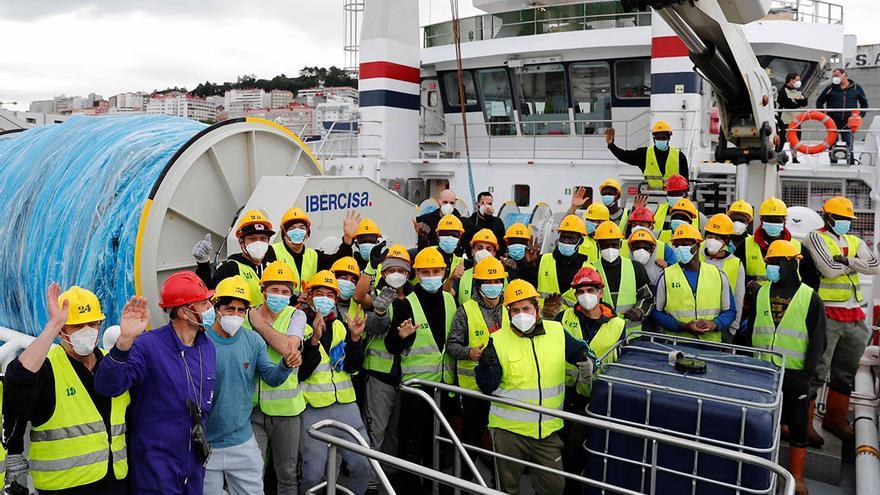 La CE propone 75.000 toneladas de calamar de Malvinas sin arancel para la flota gallega