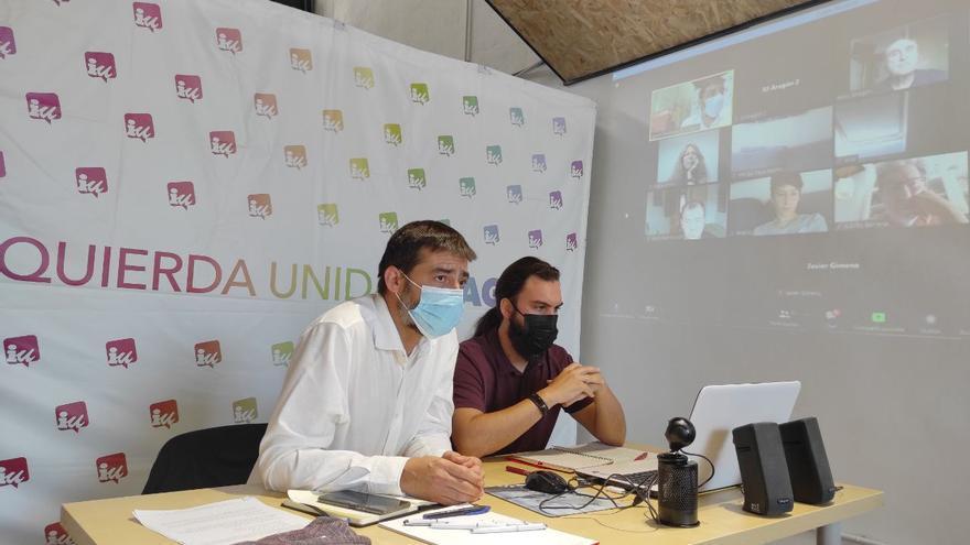 IU exige al Gobierno de Aragón reforzar los servicios públicos