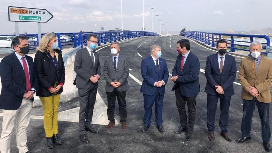 Abre al tráfico la Avenida de Levante, que agilizará el tráfico en la zona sur de Murcia