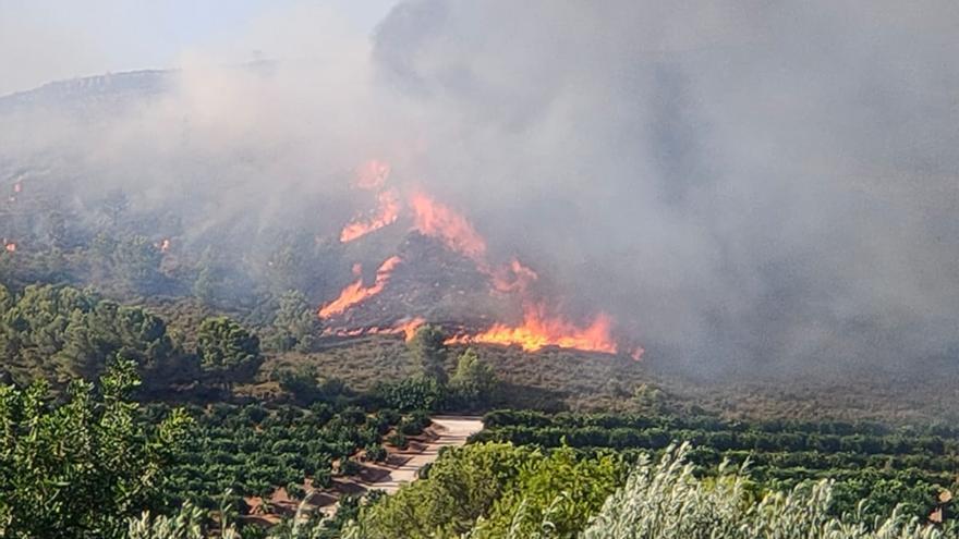 Tres incendios obligan a desalojar dos urbanizaciones y movilizan 16 medios aéreos