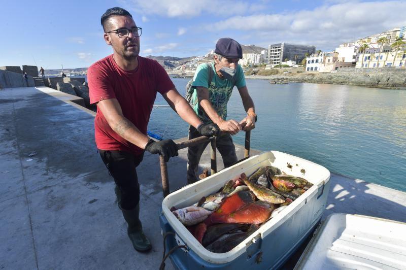 Campaña de la vieja en el muelle pesquero de San Cristóbal