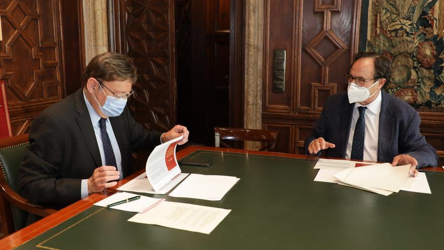 La Generalitat consigue que la Unión Europea asuma 277 millones del gasto realizado por la covid-19