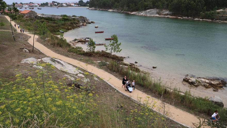 Punta Moreiras-A Lanzada, un sendero de ensueño