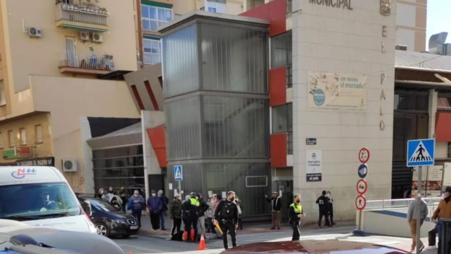 Cuatro heridos en tres accidentes de tráfico en Málaga en  menos de una hora