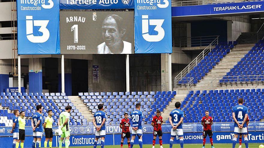 Con Arnau en la memoria: la crónica del Oviedo-Mirandés