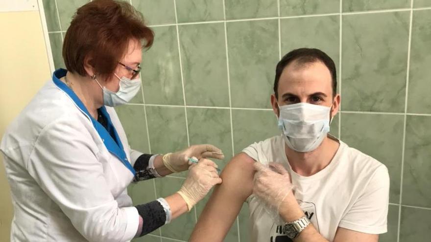 """""""Decidí ponerme la vacuna Sputnik cuando vi interés de Europa en comprarla"""""""