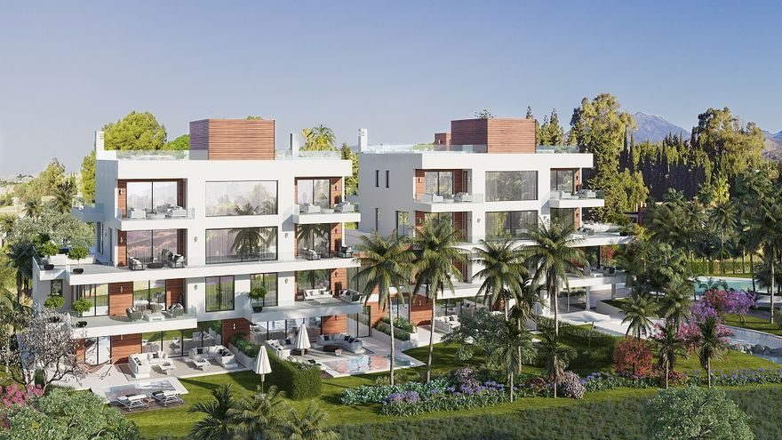 Inician las obras de Benalús, un exclusivo complejo residencial en la Milla de Oro