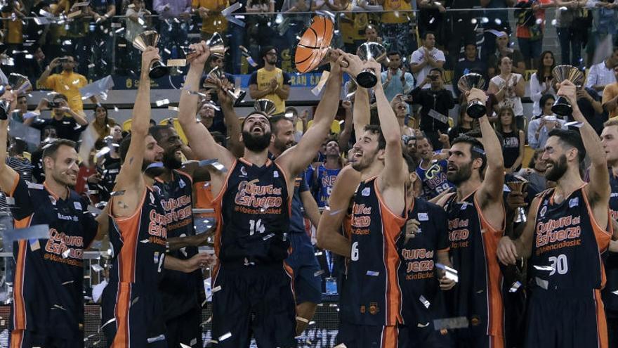 El Valencia Basket, campeón de la Supercopa