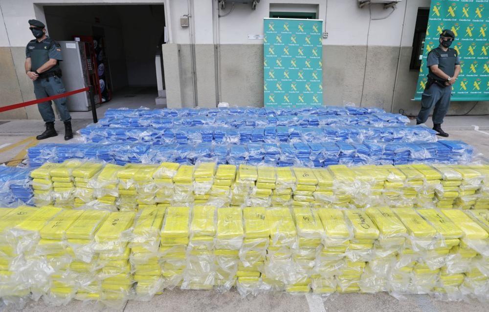 Guardia Civil y Policía Nacional incautaron 3.800 kilos de cocaína en el Puerto de València durante el Estado de Alarma