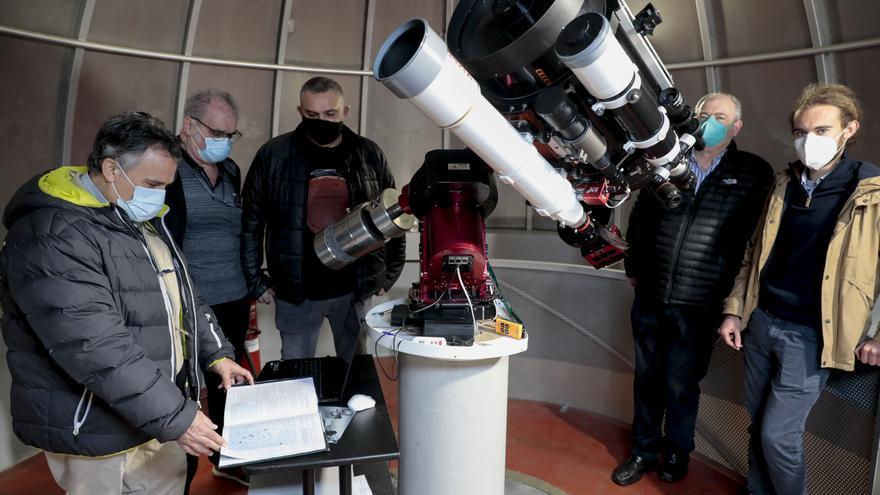 La Sociedad Astronómica Omega, cuatro décadas custodiando el firmamento