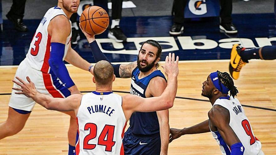 Ricky Rubio obre l'NBA amb triomf