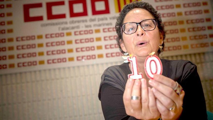 Consuelo Navarro: «Defendemos la digitalización pero no a costa de precarizar el empleo juvenil»
